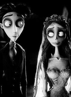 Victor & Emily  Disney/Tim Burton   Corpse Bride 