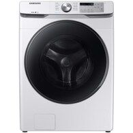 Samsung ft High Efficiency Stackable Steam Cycle Front-Load Washer (White) ENERGY STAR at Lowe's. Samsung's new cu. capacity front load washer with steam eliminates stains without the need to pretreat. Self Clean+ keeps your washer drum Washer Drum, Samsung Washer, Stainless Steel Drum, Stackable Washer And Dryer, Front Load Washer, Counter Depth, White Appliances, Types Of Doors, Energy Star