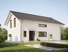 Sunshine - 210 mit Satteldach - Einfamilienhaus von WeberHaus GmbH & Co. KG | HausXXL #Fertighaus #Energiesparhaus  #klassisch #Satteldach