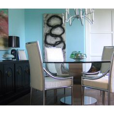 #tbt #dining #room at #theatelier, #losangeles, 2005. #interiordesign by #maison21. #design #instadesign #interiordesigner #home #style #decor #decorate #losangeles #chrome #chairs #table #chandelier #modern #lamps #westhollywood #weho #miraclemile #beverlyhills #realestate #renovate #renovation  #architecture #remodel #art by #maison21