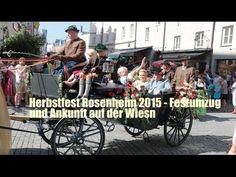 Herbstfest Rosenheim 2015 - Festumzug und Ankunft auf der Wiesn