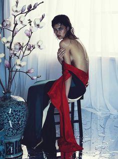 Astrid Holler by Nicole Bentley for Vogue Australia December 2015
