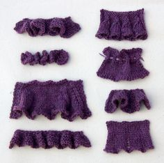 how to knit ruffles:  Basic Top Down Ruffle.  Bell Ruffle.  Gathered Eyelet Ruffle.  Short Row Vertical Ruffle.  Drop Stitch Pleat.  Basic Bottom Up Ruffle.  Fluttery Ruffle.  Corkscrew Ruffle
