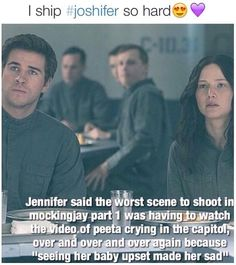 Well, shit. After seeing this...so do I. Joshifer is BROTP.