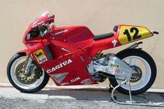 La Cagiva 500 de Randy Mamola en 1989