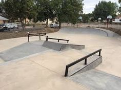 Image result for skatepark rails