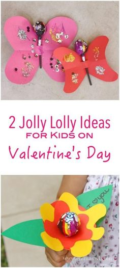 2 Wonderfully Lovely Ideas to spoil your Kids on Valentines Day! A great valentines Day Craft project for them to make! Valentines For Kids, Valentine Day Crafts, Holiday Crafts, Craft Activities, Preschool Crafts, Valentine's Day Crafts For Kids, Craft Projects, Craft Ideas, Arts And Crafts