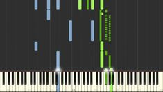 Antonio Vivaldi - Spring (The Four Seasons) [Synthesia piano tutorial] Vivaldi Spring, E Major, Piano Tutorial, Four Seasons, Bar Chart, Youtube, Seasons Of The Year, Bar Graphs, Youtubers