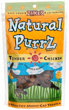 Natural Purrz Soft Treats For Cats * Click on the image for additional details. (This is an affiliate link and I receive a commission for the sales)