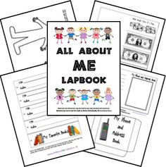 All About Me Lapbook from Homeschool Share | Bible Based Homeschooling