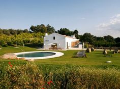 Imani Country House, Alentejo, Portugal, is a 32-acre estate with seven guest rooms in a converted country house. The property is an hour from Lisbon and a ten-minute drive from the city of Évora, a UNESCO World Heritage Site.