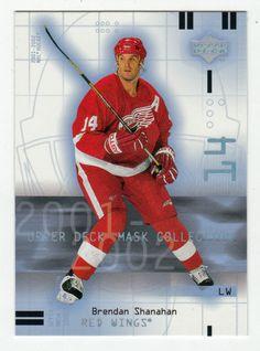 Brendan Shanahan # 32 - 2001-02 Upper Deck Mask Collection Hockey
