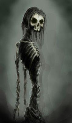 Skeleton Art.