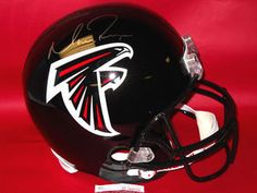 $249.44 Autographed Matt Ryan Atlanta Falcons full size Riddell Replica Helmet. This stunning helmet is ready to be displayed in your sports room! It comes with JSA (James Spence Authentication- yes the industry leader) Authentication tamper proof serial numbered sticker and a matching COA.Matt Ryan is one of the new rising superstars in the NFL! Get this now before his price sky rockets! This is an absolute must for all football fans!