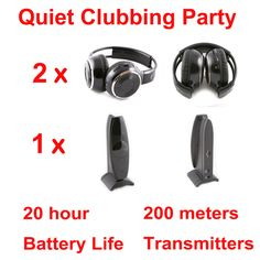 Silent Disco compete system with led flashing light The perfect system for Party, Home, School, Work and AV. Wireless Headphones, Beats Headphones, Over Ear Headphones, Ipod, Noise Cancelling, Cool Things To Buy, Stuff To Buy, Consumer Electronics, Party