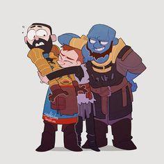 God of war Sindri, Brok y Atreus Gears Of War, Gorillaz, Kratos God Of War, Game Concept Art, Gaming, Animal Tattoos, Super Funny, Funny Comics, Videogames