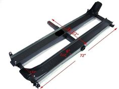 1000lb Double Dual Dirtbike Motorcycle Carrier w/ Loading Ramp