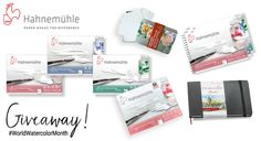 Hahnemühle World Watercolor Month Giveaway