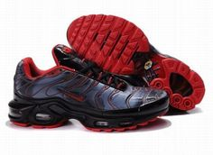 Nike Air Max TN Mens Black Red Light Blue