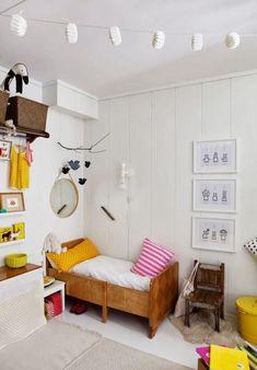 Kid's room - Vintage bed - Hilde Mork, Norway - Via Baby Deco Kids, Modern Nursery Decor, Deco Design, Kid Spaces, Kids Bedroom, Kids Rooms, Kids Decor, Girl Room, Child's Room
