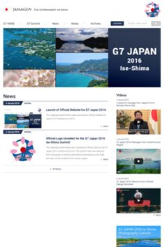 The G7 summit will take place on May 26-27, 2016 at Ise-shima. Ministerial meetings addressing specific issues will be held throughout the year at various locations in Japan. Prime Minister Abe will also engage in exchanges with civil society.
