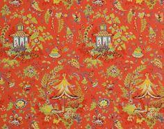 Papel pintado decorativo: motivos de flores GASAKI Boussac