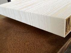 Pannello in finitura collezione Texture realizzato con tecnologia folding