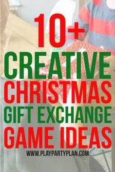 11 of the Best Gift Exchange Games! Perfect for a family party Christmas party o 11 of the Best Gift Exchange Games! Perfect for a family party Christmas party o Source by Look pijama Christmas Gift Exchange Games, Holiday Games, Christmas Party Games, Xmas Games, Xmas Party, Holiday Ideas, Gift Exchange Themes, Party Time, Christmas Activities