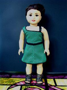 american girl doll dress: olympia by sylvieandbruno on Etsy