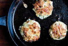 Goat Cheese Potato Cakes Recipe | Leite's Culinaria