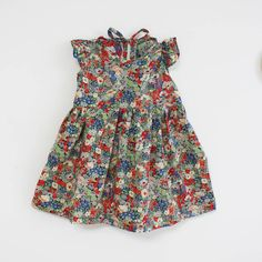 Little dress with Tatum print