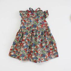 Little dress with Tatum print
