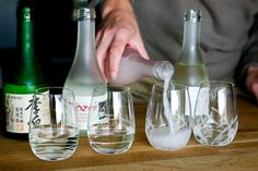 How to pair Japanese sake with food ~ http://steamykitchen.com