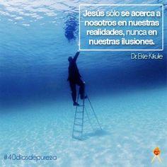 Como se acerca Jesus a tu vida. #40diasdepureza #palabras #frases #amor #vida #español
