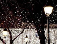 Holiday Sparkle, Paris - French Fine Art Photograph Art Print --- Paris Photography - Paris Decor - Christmas Home Decor - Holiday Paris Lights, City Lights, Street Lights, Holiday Lights, Christmas Lights, Holiday Decor, Xmas, Outdoor Christmas, Paris Photography