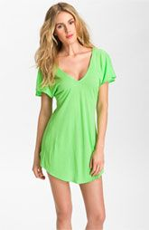 Vitamin A® Cross Back Cover-Up Dress  $64.00