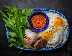 Broken rice plate from Mission Cantina's New Vietnamese Breakfast Menu | Tasting Table NYC