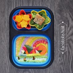 Day 97: rice, baked salmon, mixed veggies, babybel, mangoes