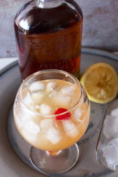This Sparkling Whiskey Sour is a fun, slightly sweeter version of a classic.