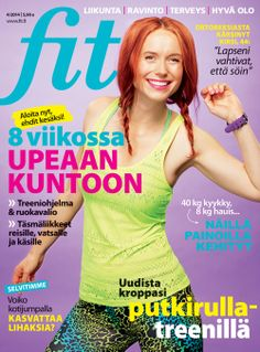 Fit 4/2014 I Kannen kuva: Arsi Ikäheimonen I www.fit.fi I Feel Good, Athlete, Feelings, Fitness, Fit 4, Anna, Pearls, Beads, Gemstones