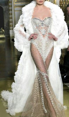 This is more like a dancer's costume than an evening gown...but really nice