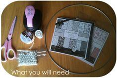 DIY Tuesday | V6: Nursery butterfly mobile