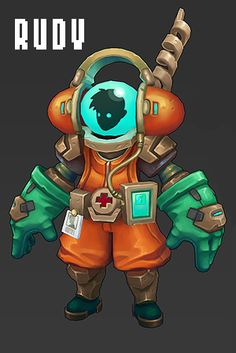 """-- Great concept, model, and painted texture --""""BLUBBER BUSTERS"""" Game Dev Blog - Page 10 - Polycount Forum"""
