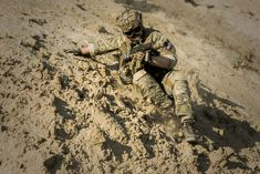 #action #adventure #army #camouflage #desert #man #military #outdoors #person #sand #soil #soldier #uniform #weapon