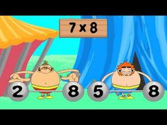 Times Tables: Multiply with 7, Distributive Property - YouTube