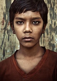 Gypsy boy from Rajasthan - the origin country of all the gypsies in the world.  © Tine Poppe