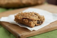 Oatmeal Raisin Bars - Easy & Healthy Super Bowl Party Dessert Ideas!