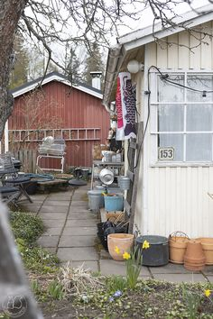 Oravankesäpesä: KORONAVAPPU 2020. Shed, Outdoor Structures, Cabin, House Styles, Home Decor, Homemade Home Decor, Backyard Sheds, Cabins, Cottage