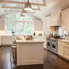 Cathedral Ceiling Kitchen, Transitional, kitchen, Smith River KItchens