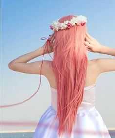 Your thoughts for Pastel hair photo Jessicaelle's photos - Buzznet - Coral hair Coral Hair, Pastel Pink Hair, Peach Hair, Apricot Hair, Pretty Pastel, Purple Hair, Dye My Hair, Your Hair, Hair Questions